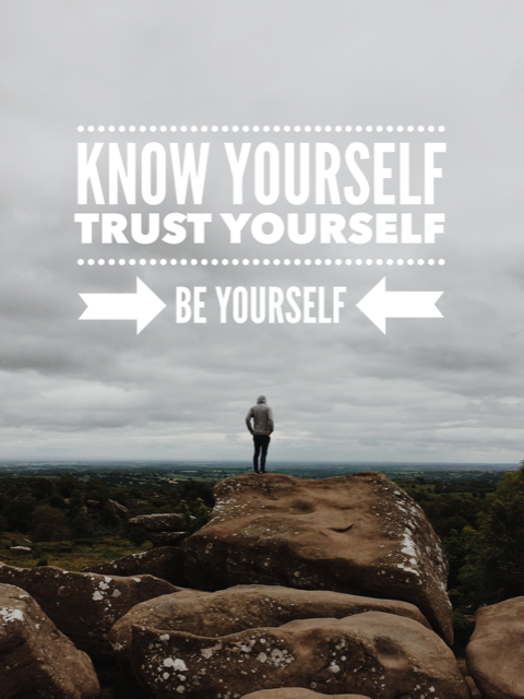 Know Trust BE Yourself